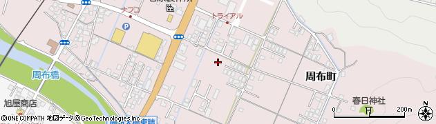 島根県浜田市周布町周辺の地図