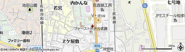寿しよし武豊店周辺の地図