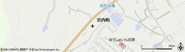 広島県庄原市宮内町周辺の地図