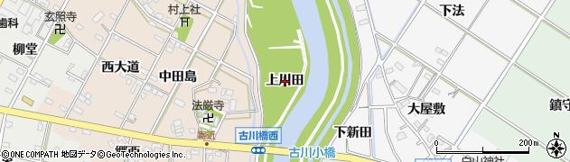 愛知県西尾市寄近町(上川田)周辺の地図