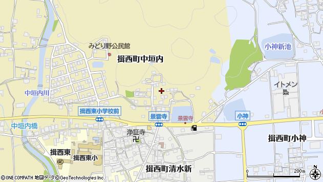 〒679-4002 兵庫県たつの市揖西町中垣内の地図
