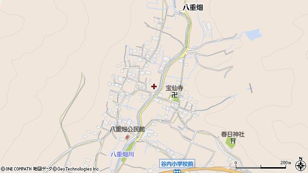 〒671-0208 兵庫県姫路市飾東町八重畑の地図