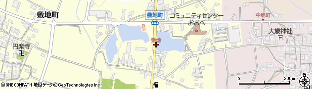 敷地周辺の地図