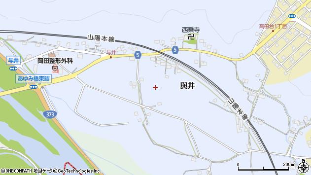 〒678-1225 兵庫県赤穂郡上郡町與井の地図