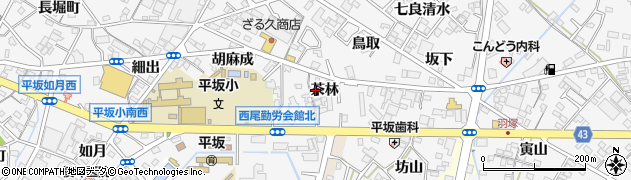 料理・香村周辺の地図
