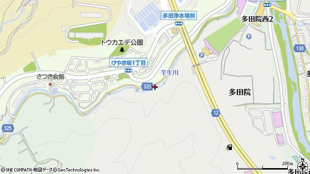〒666-0126 兵庫県川西市多田院の地図