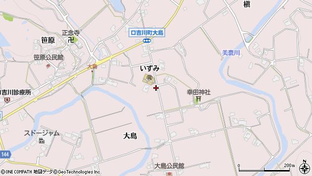〒673-0755 兵庫県三木市口吉川町大島の地図