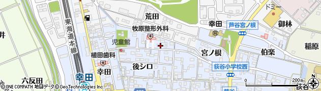 大吉周辺の地図