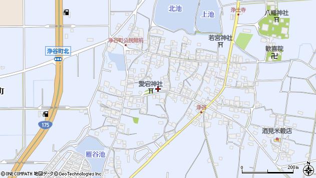 〒675-1317 兵庫県小野市浄谷町の地図