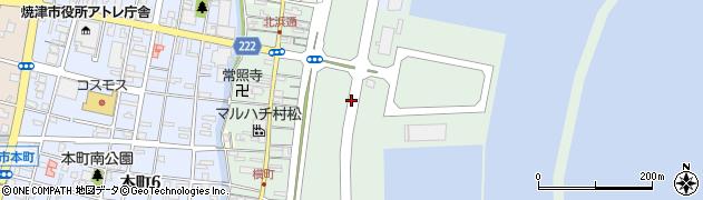 静岡県焼津市城之腰周辺の地図