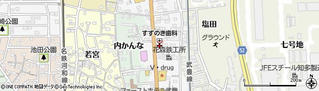 シェリー周辺の地図