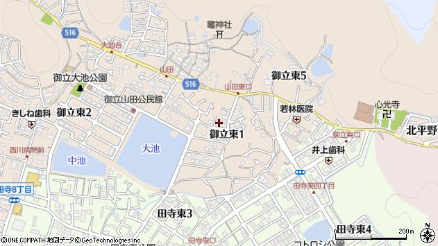 〒670-0072 兵庫県姫路市御立東の地図