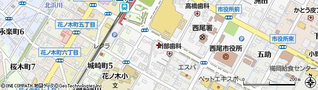 シャイン周辺の地図
