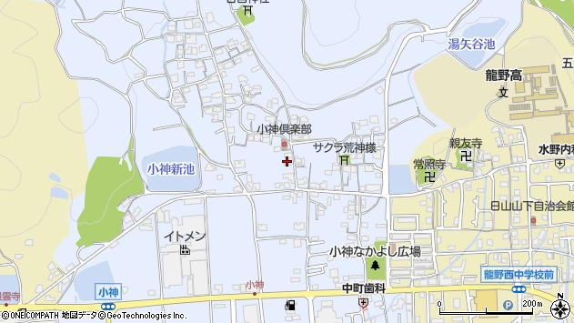〒679-4003 兵庫県たつの市揖西町小神の地図