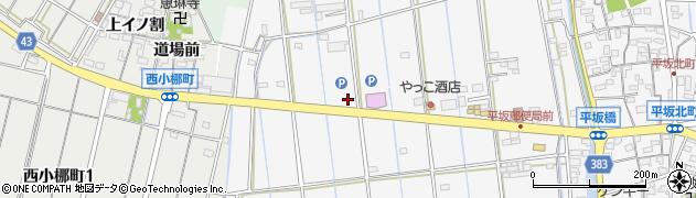花櫚周辺の地図