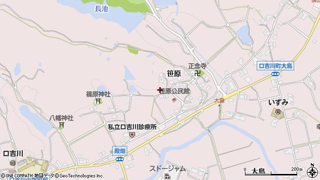 〒673-0757 兵庫県三木市口吉川町笹原の地図