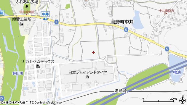 〒679-4124 兵庫県たつの市龍野町中井の地図