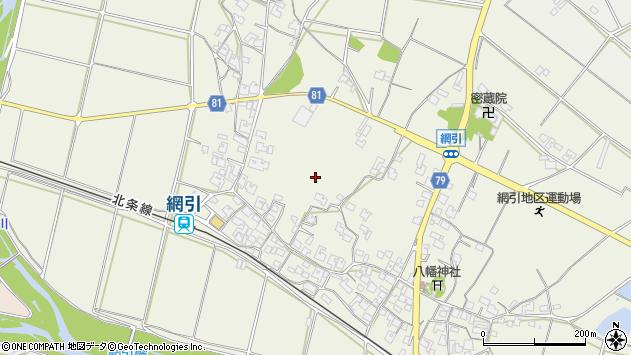 〒675-2113 兵庫県加西市網引町の地図