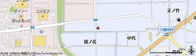 京都府八幡市戸津(盛戸)周辺の地図