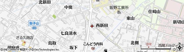 青山周辺の地図