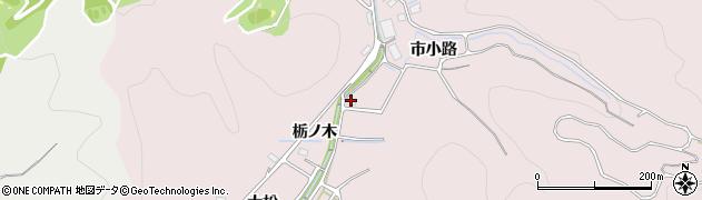 愛知県豊川市財賀町(桑原)周辺の地図
