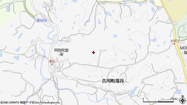 〒673-1123 兵庫県三木市吉川町湯谷の地図