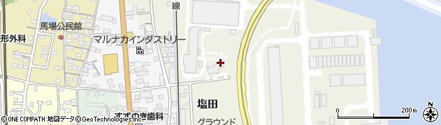 愛知県武豊町(知多郡)塩田周辺の地図