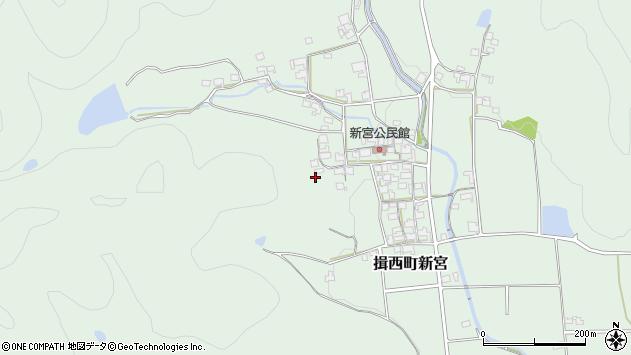 〒679-4001 兵庫県たつの市揖西町新宮の地図