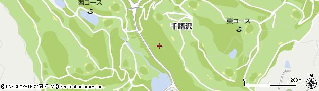 愛知県豊川市平尾町(千語沢)周辺の地図