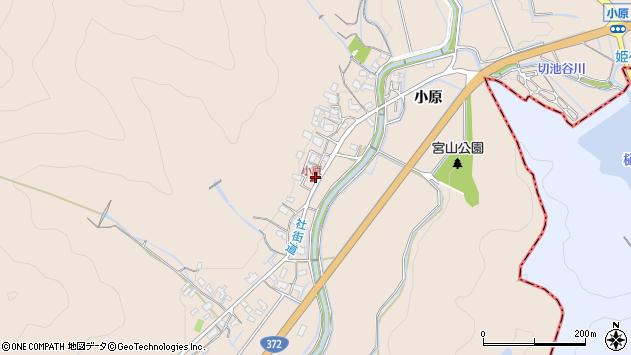 〒671-0209 兵庫県姫路市飾東町小原の地図