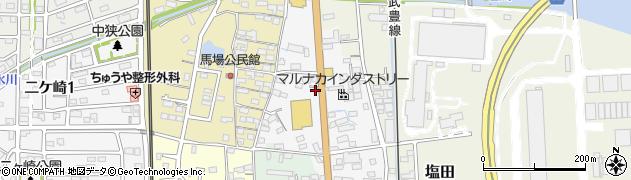 愛知県武豊町(知多郡)浅水周辺の地図