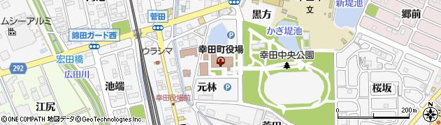 愛知県幸田町(額田郡)周辺の地図