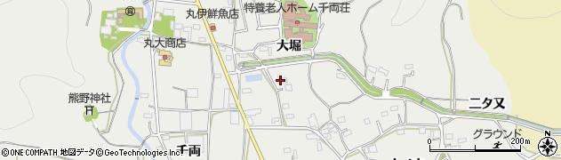 愛知県豊川市千両町(大堀)周辺の地図