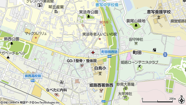 〒671-2217 兵庫県姫路市町田の地図