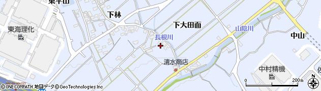 愛知県豊川市萩町(ツイジ)周辺の地図