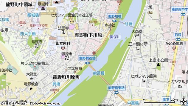 〒679-4177 兵庫県たつの市龍野町下川原の地図