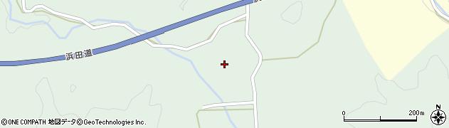 島根県浜田市旭町和田(天津谷)周辺の地図