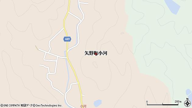 〒678-0092 兵庫県相生市矢野町下田の地図