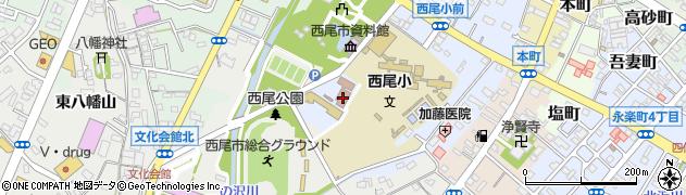 中央ふれあいセンター 喫茶室周辺の地図