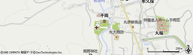 善秀寺周辺の地図