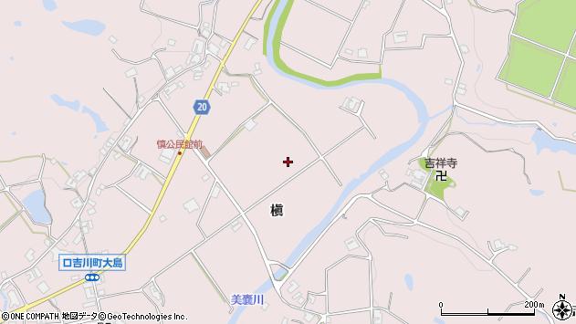 〒673-0753 兵庫県三木市口吉川町槇の地図