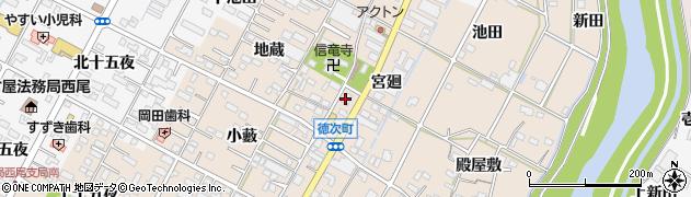 いまい周辺の地図