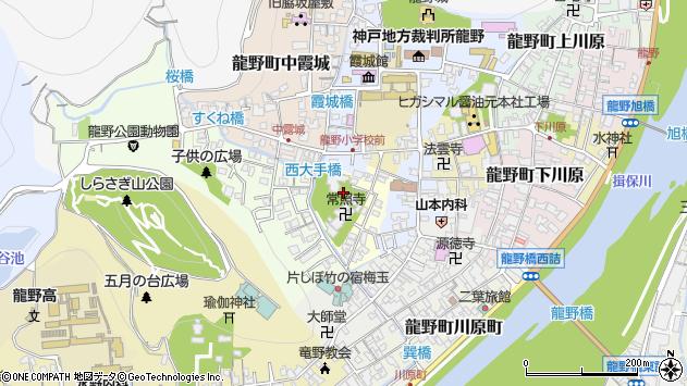 〒679-4163 兵庫県たつの市龍野町福の神の地図