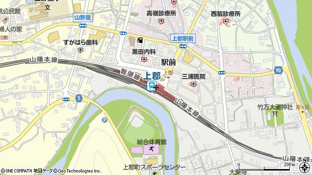 上郡駅(兵庫県赤穂郡上郡町) 駅・路線図から地図を検索