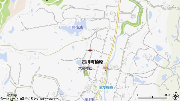 〒673-1241 兵庫県三木市吉川町楠原の地図