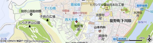 普音寺周辺の地図