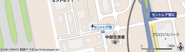 ロンフーエアーキッチン セントレア店周辺の地図