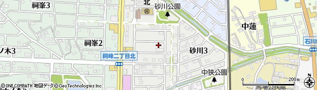 愛知県武豊町(知多郡)砂川周辺の地図