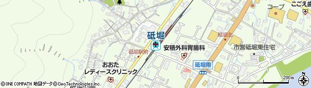 兵庫県姫路市周辺の地図