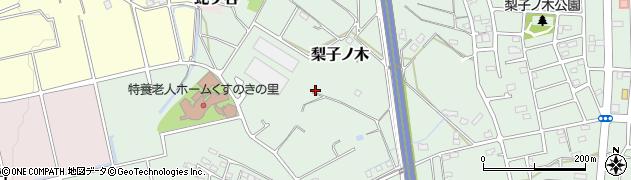 愛知県武豊町(知多郡)梨子ノ木周辺の地図